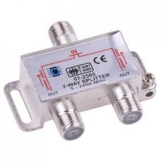 SPLITTER 2 CAI POWER PASS 5-2450 MHZ - Conectica auto