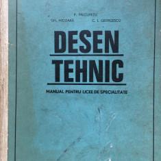 DESEN TEHNIC - Precupetu, Nicoara, Georgescu