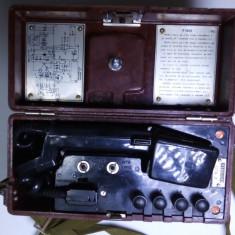 Telefon vechi campanie militar armata F1603 Dusmanul Asculta magnetou inductor