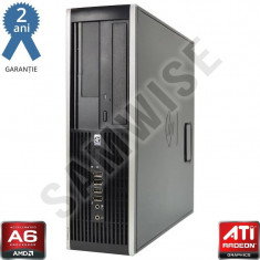 HP 6305 SFF A6 X2 5400K BE 3.8GHz 4GB DDR3 320GB HD7540D DVD-RW GARANTIE 2 ANI! - Sisteme desktop fara monitor HP, AMD A6, 2501-3000Mhz, 200-499 GB, FM2