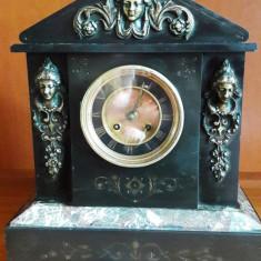 Ceas de semineu pendula Japy Freres 1890