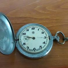 Ceas Molnija de buzunar cal. SU 3602, DEFECT - Ceas de buzunar vechi