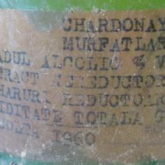 Vin Murfatlar Chardonnay 1960 - Vinde Colectie, Aroma: Sec, Sortiment: Alb, Zona: Romania 1950 - 1970