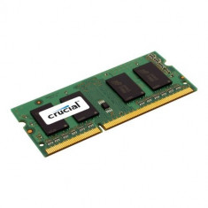 Memorie Crucial DDR3 SODIMM 4GB 1600MHz CL11 Single Ranked - Memorie RAM