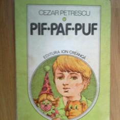 d5 PIF PAF PUF - Cezar Petrescu