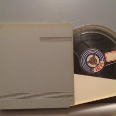 Banda Magnetofon + cutie - (West Germany) - diametru rola 13 cm - stare F.Buna, Telefunken
