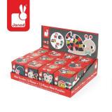 Mini Puzzle - Animale De Padure (12 Piese), Janod