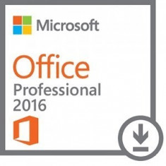 Aplicatie Microsoft Licenta Electronica Office Professional 2016, All languages, FPP - Solutii business