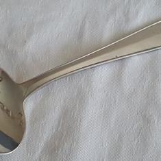 Masiva LINGURA argint BEBELUS Cadou splendid de BOTEZ marcaj MINERVA impecabila, Tacamuri