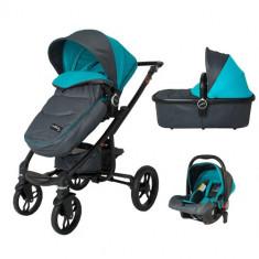 Sistem Modular 3in1 Arrow Albastru Albastru - Carucior copii 2 in 1 DHS Baby