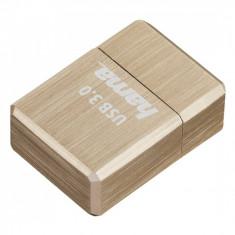Memorie USB Hama Micro Cube 64GB USB 3.0 Gold - Stick USB