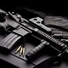 Pret Bun! Pusca ELECTRICA Airsoft Cu AER COMPRIMAT - Arma Airsoft Cyber Gun