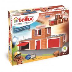 Set de constructie TEIFOC Din Caramizi - Statie De Pompieri