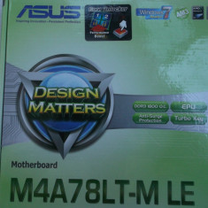 Kit Gaming Asus M4A78LT-M LE +Phenom II X4 B50 Quad Core + 4 gb ddr3 Box - Placa de Baza Asus, Pentru AMD, AM3, Contine procesor, MicroATX