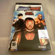 WWE Smack Down vs Raw 2008, PSP, original, alte sute de jocuri! - Jocuri PSP Thq, Sporturi, 16+, Single player