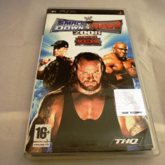WWE Smack Down vs Raw 2008, PSP, original, alte sute de jocuri! - Jocuri PSP Thq, Sporturi, 16+, Single player
