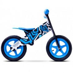 Bicicleta Fara Pedale Zap, 12 inch Blue - Bicicleta copii