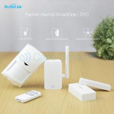 Kit Alarma inteligenta Broadlink Wireless S1C - Accesoriu instalatie electrica
