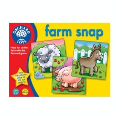 Joc Educativ - Ferma Vesela - Orchard Toys (028) - Jocuri Logica si inteligenta
