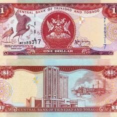 TRINIDAD & TOBAGO 1 dollar 2006 UNC!!! - bancnota america