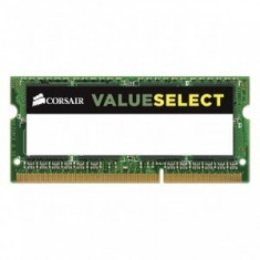 Memorie notebook Corsair ValueSelect, 4GB, DDR3, 1600MHz, CL11, 1.35v - Memorie RAM laptop