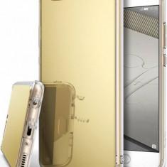 Husa Protectie Spate Ringke Mirror Royal Gold plus folie protectie display pentru Huawei P10 - Husa Telefon Ringke, Gel TPU