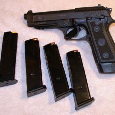 CEL MAI BUN PISTOL De Airsoft!! Modificat / Taurus Beretta cu Co2 gaz - Arma Airsoft Cyber Gun