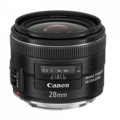 Canon EF 28mm f/2.8 IS USM - foarte putin folosit - Obiectiv DSLR