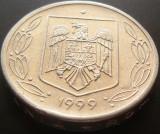 Moneda 500 Lei - ROMANIA, anul 1999 *cod 5029  Allu, Aluminiu