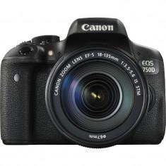 Aparat foto D-SLR Canon EOS 750D Negru + obiectiv EF-S 18-55mm f/3.5-5.6 IS STM