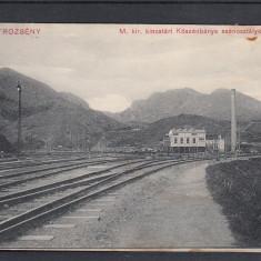 PETROSANI, FABRICA DE PROCESARE A CARBUNELUI CIRCULATA 1912 - Carte Postala Transilvania 1904-1918, Printata