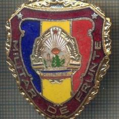 ZET 705 INSIGNA,, MILITAR DE FRUNTE