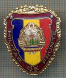 "ZET 711 INSIGNA ,,MILITAR DE FRUNTE"" - PERIOADA RSR - PENTRU NOSTALGICI"