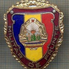 ZET 711 INSIGNA,, MILITAR DE FRUNTE