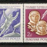 Ungaria. 1965 Cosmonautica-Voschod 2 KZ.208 - Timbre straine, Nestampilat