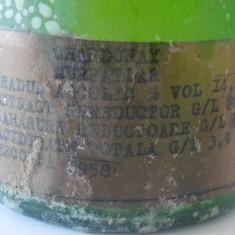 Vin Murfatlar Charonnay 1958 - Vinde Colectie, Aroma: Demi-sec, Sortiment: Alb, Zona: Romania 1950 - 1970