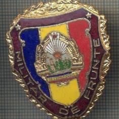 ZET 710 INSIGNA,, MILITAR DE FRUNTE
