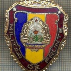 ZET 717 INSIGNA,, MILITAR DE FRUNTE