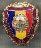"ZET 766 INSIGNA ,,MILITAR DE FRUNTE"" - PERIOADA RSR - PENTRU NOSTALGICI"