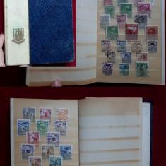 TS165 Clasor cu timbre straine vechi