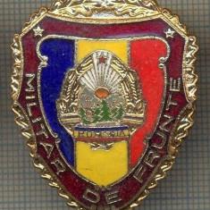 ZET 731 INSIGNA,, MILITAR DE FRUNTE