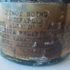 Vin Murfatlar Pinot Noir 1957 - Vinde Colectie, Aroma: Sec, Sortiment: Rosu, Zona: Romania 1950 - 1970