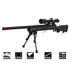 Pusca (Puternica) MANUALA MODIFICATA Awp Airsoft cu aer comprimat - Arma Airsoft Cyber Gun