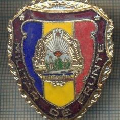 ZET 715 INSIGNA,, MILITAR DE FRUNTE