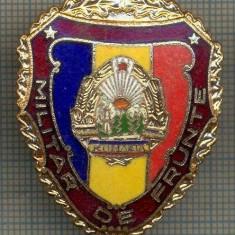 ZET 698 INSIGNA,, MILITAR DE FRUNTE