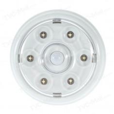 Lampa cu 6 LED, senzor de miscare, functionare pe baterii - Lampa veghe copii