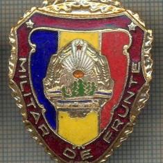 ZET 751 INSIGNA,, MILITAR DE FRUNTE