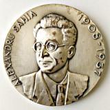 MEDALIE PREMIUL ALEXANDRU SAHIA REPORTAJ UNIUNEA ZIARISTILOR  ARGINTATA MEDALIA