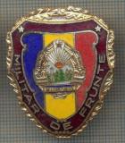 "ZET 736 INSIGNA ,,MILITAR DE FRUNTE"" - PERIOADA RSR - PENTRU NOSTALGICI"