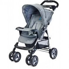 Carucior Sport Monaco Grey - Carucior copii 2 in 1 Caretero